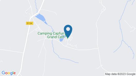 Le Domaine du Grand Bois Map