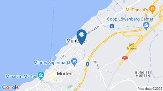 Best Western SeePark Hotel Murten Map