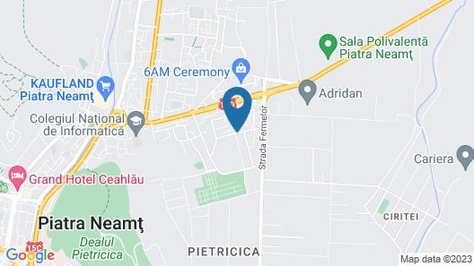 Clement Apartments Map