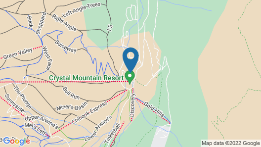 Crystal Mountain Hotels Map