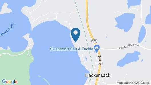 Year Around Beautiful Lake Home on Birch Lake 3 Hours From Minneapolis Map
