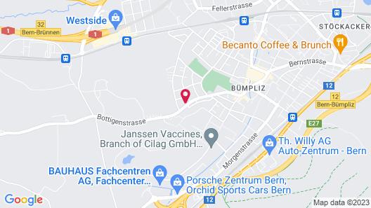 Berne City Apartement Map