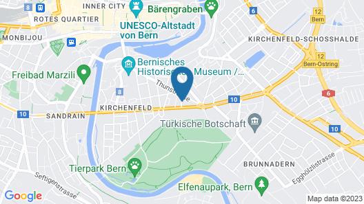 Apartments Justingerweg Map