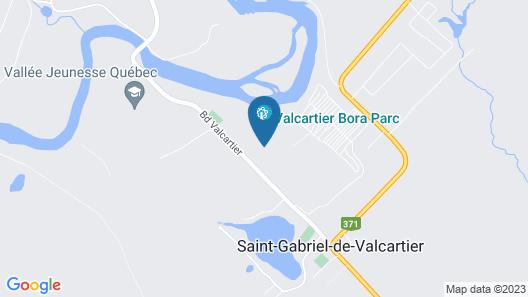 Hotel Valcartier Map