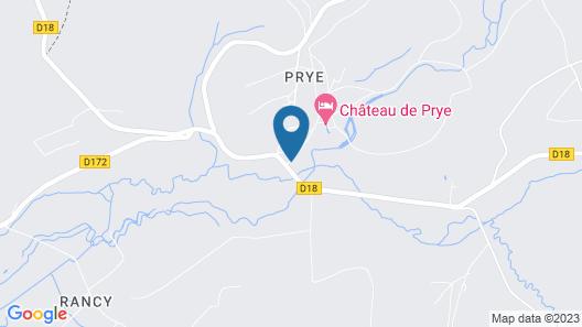 Chateau de Prye Map
