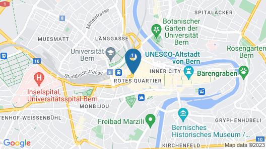 Hotel Schweizerhof Bern & Spa Map
