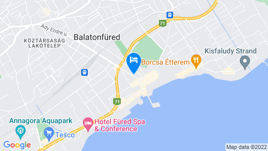 Astoria Hotel Map