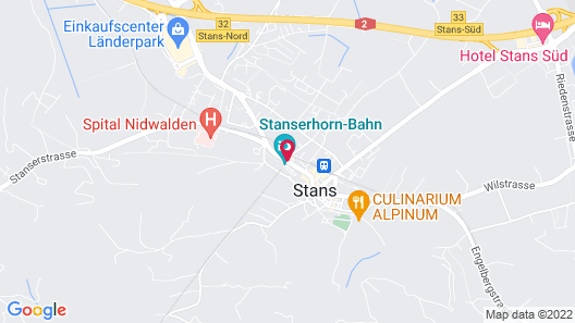 Hotel Stanserhof Map