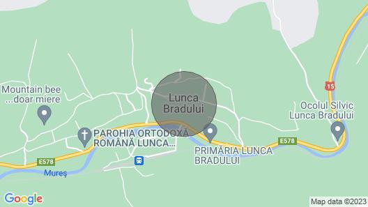 Chalet in Transylvania Map