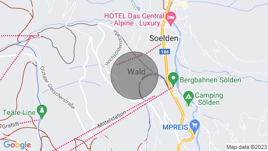Apartment Bergers in Sölden - 4 Persons, 1 Bedrooms Map