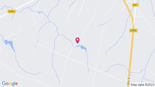 Cabanes de l'Espace Fouletot Map
