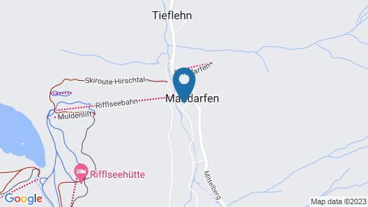 Pitztaler Schihütte Map