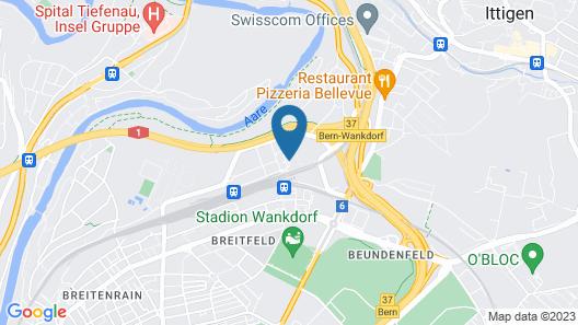 Moxy Bern Expo Map
