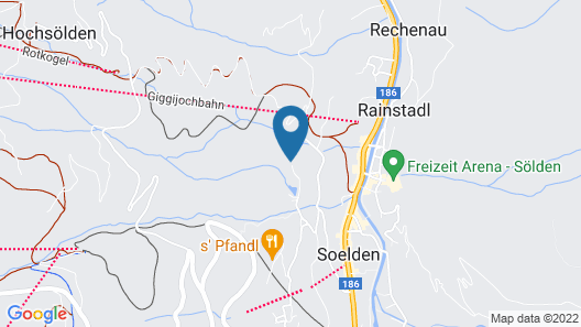 Gästehaus Bergkristall Map
