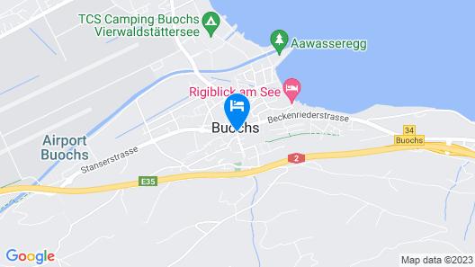 Krone Buochs - Hotel & Restaurant Map