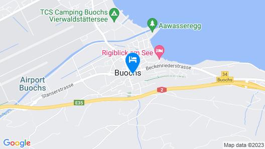 Hotel Krone Buochs Map