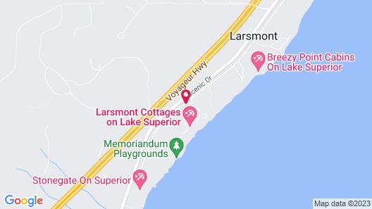 Larsmont Cottages Map