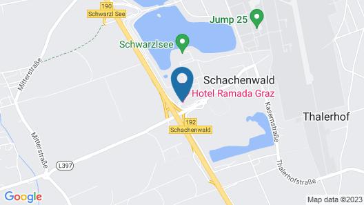Ramada by Wyndham Graz Map