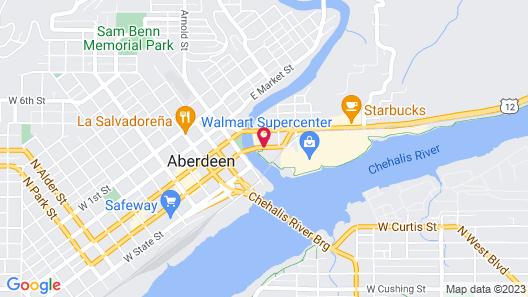 Best Western Plus Aberdeen Map