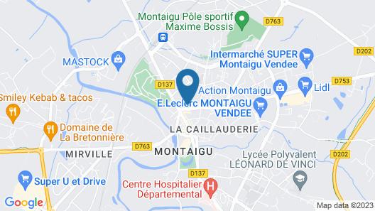 Chambre d'hôtes Le Celadon Map