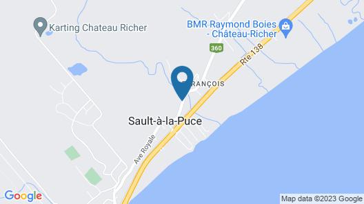Auberge du Sault-à-la-Puce Map