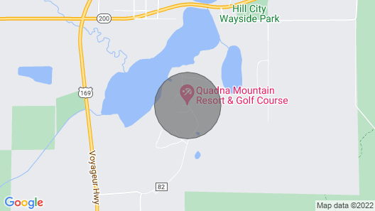 Camp Golf Grill Lake & Trails Map