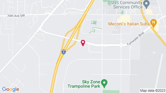 OYO Hotel Olympia - Tumwater Map