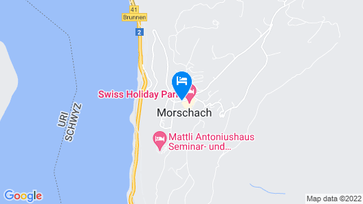 Swiss Holiday Park Resort Map