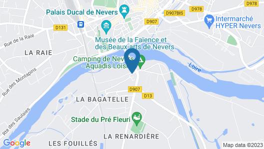 ibis Nevers Map