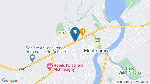 Hôtel Centre-Ville Map