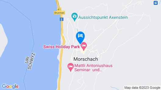 APART HOLIDAYS Morschach Map