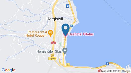 Seehotel Pilatus Map