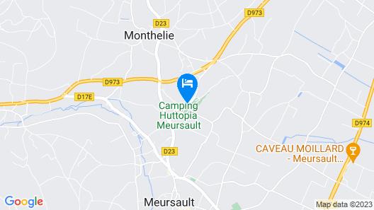 Huttopia Meursault Map