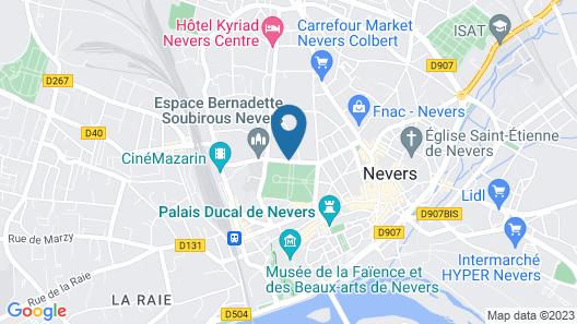 Hotel Villa du Parc Map