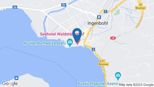 Seehotel Waldstaetterhof Swiss Quality Map