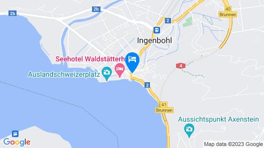 Weisses Rössli Swiss Quality Hotel Map