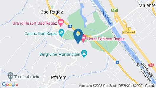 Schloss Ragaz Map