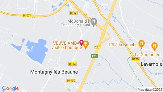 Premiere Classe Beaune Sud Map