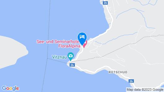See- und Seminarhotel FloraAlpina Map