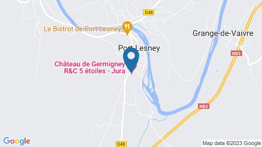 Relais et Châteaux - Château De Germigney Map