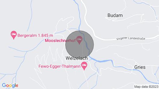 Fewo Mooslechnerhof in a Beautiful Quiet Location Map