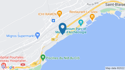 Hotel Palafitte Map