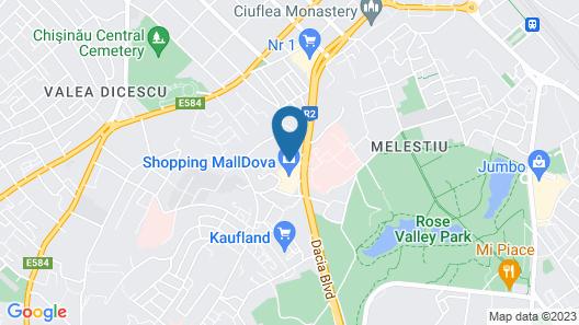 Courtyard by Marriott Chisinau Map