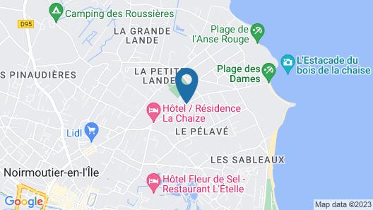 Résidence Prestige Odalys Le Domaine des Pins Map