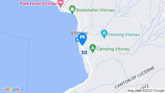 Hotel Vitznauerhof - Lifestyle Hideway at the Lake Map