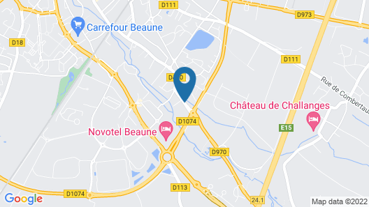 Greet Hotel Beaune Map