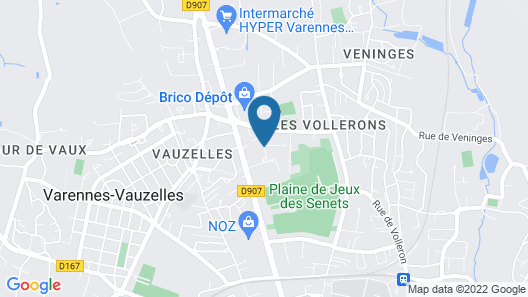 Europe Hôtel Map
