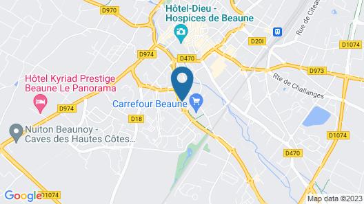 Mercure Beaune Centre Map