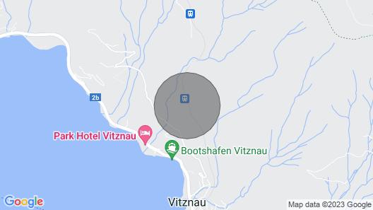 Mini Villa Directly to Rigi Train and Rigi Very Good for Hiking, Swimming, Wellness Map