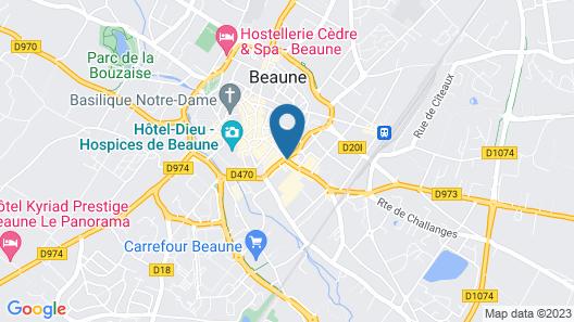 Hotel de La Cloche Map